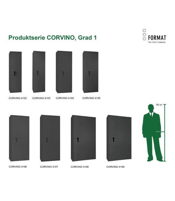 CORVINO-Grad-I-Produktübersicht