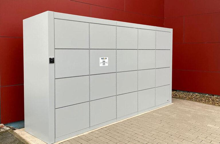 Paketboxen und Abholstationen