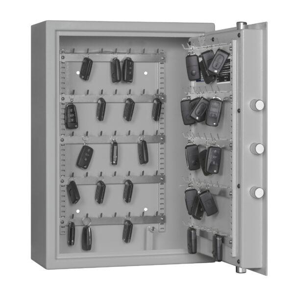 Schlüsselschrank ST 70 AS S1, Sicherheitsstufen S1 (nach EN 14450) und A (VDMA 24 992)