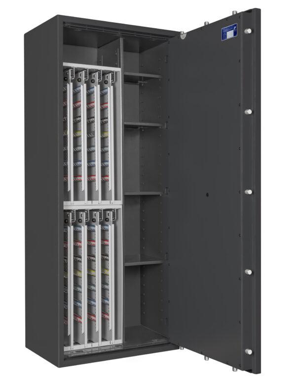 Wertschutz-Schlüsseltresor STC-3896, Widerstandsgrad I nach EN 1143-1
