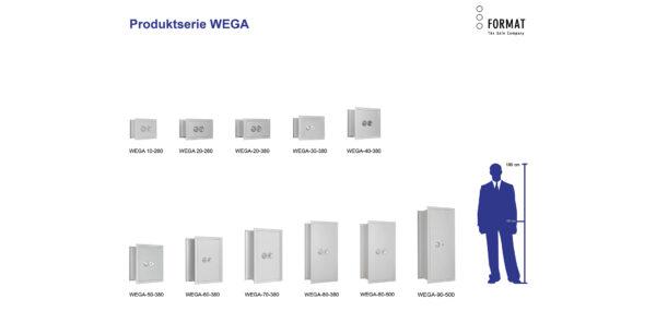 WEGA-Produktübersicht