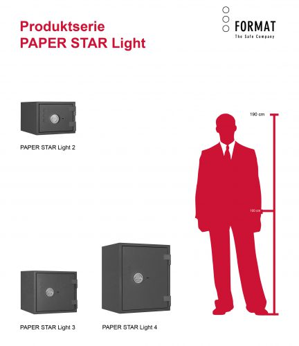 SERIE PAPER STAR Light
