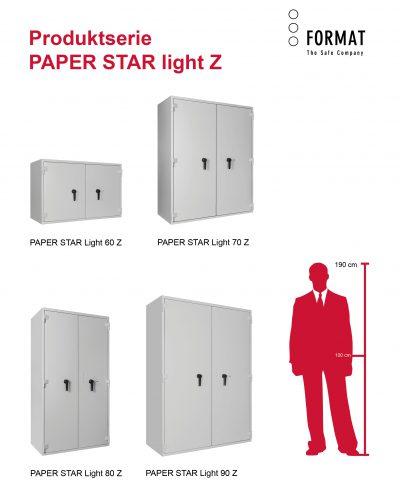 SERIE PAPER STAR light Z